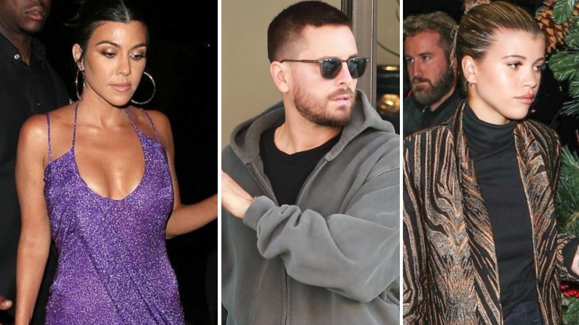 Porażka! Kourtney Kardashian świętowała swoje urodziny ze… Scottem i Sofią