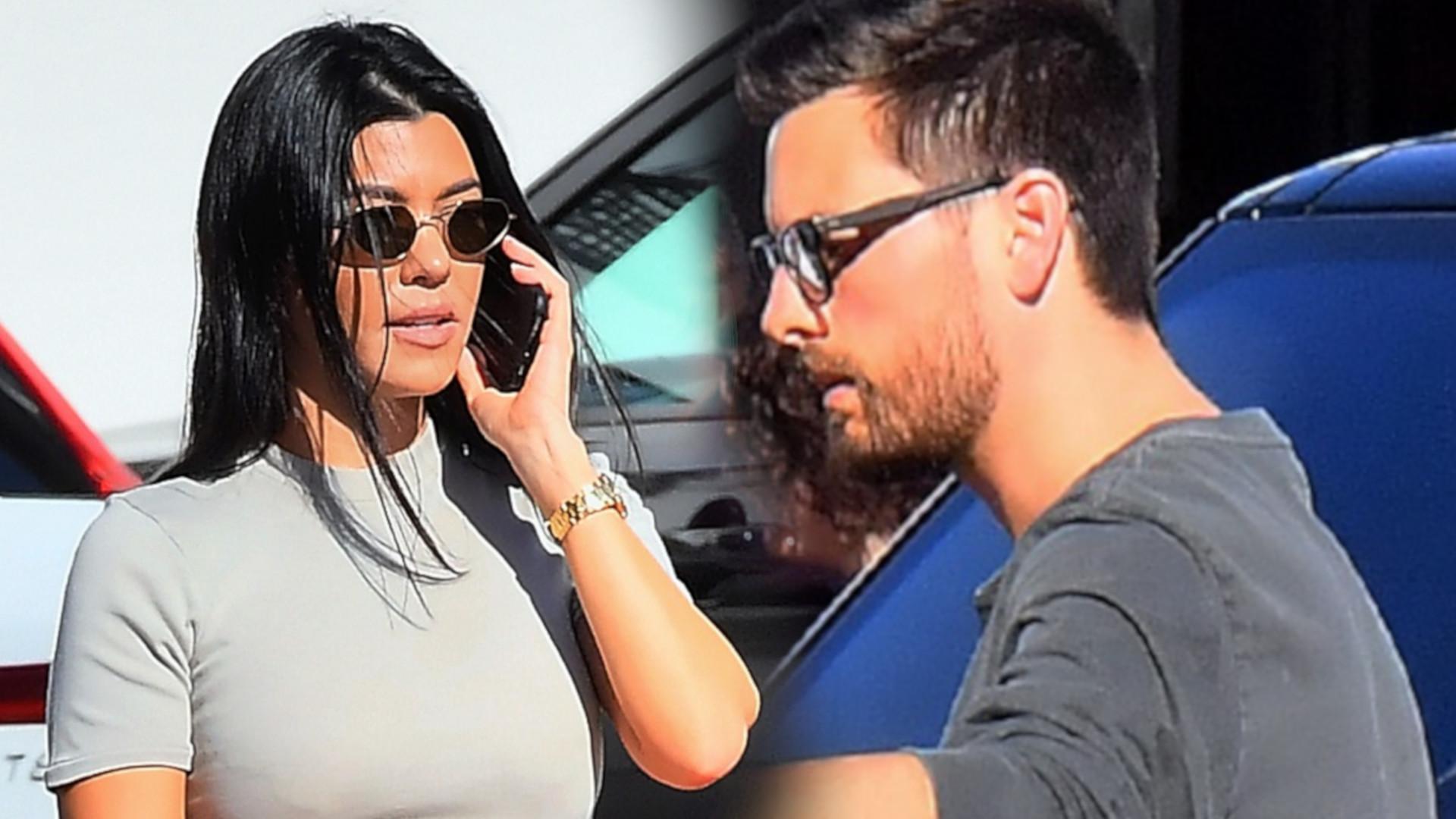Kourtney Kardashian jeszcze nigdy tak ciepło nie wypowiadała się na temat Scotta Disicka