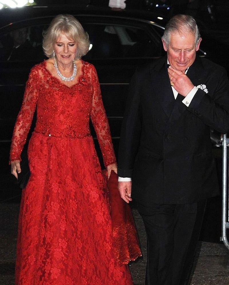książę Karol księżna Camilla