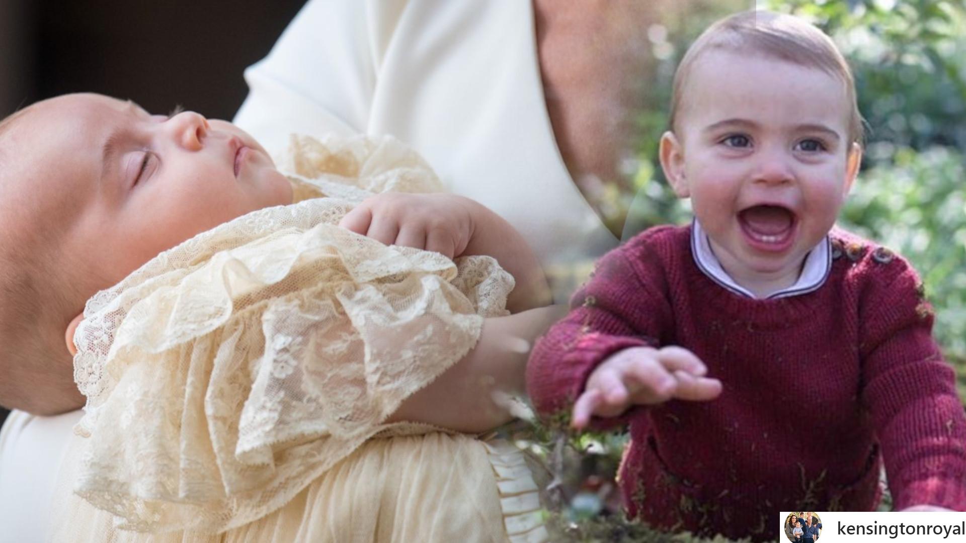 Księżna Kate i książę William pokazali NOWE zdjęcia księcia Louisa – jest już takim DUŻYM chłopcem!