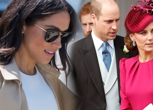 księżna meghan william i kate