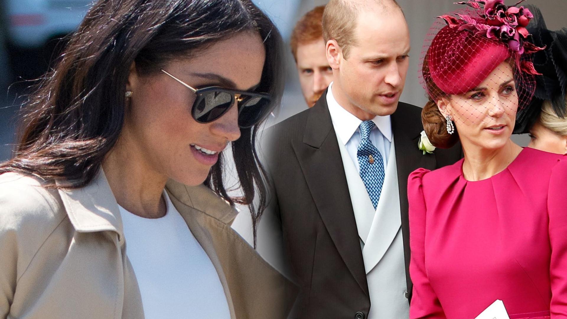 Księżna Meghan książę William księżna Kate