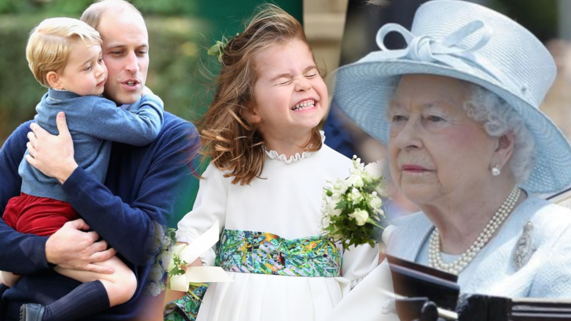 Królowa Elżbieta II jest fatalną prababcią? Relacja Kate Middleton wpływa na to, JAKA jest dla prawnuków