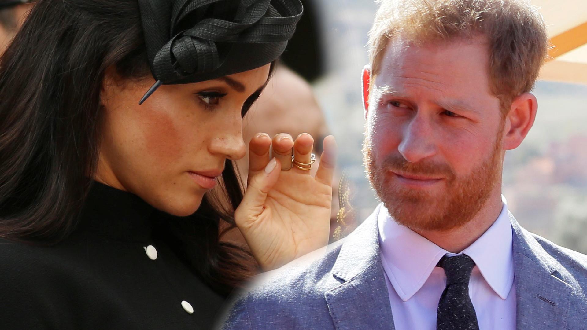 Meghan zrobiła awanturę mężowi. Zalała się łzami i szantażowała księcia Harry'ego