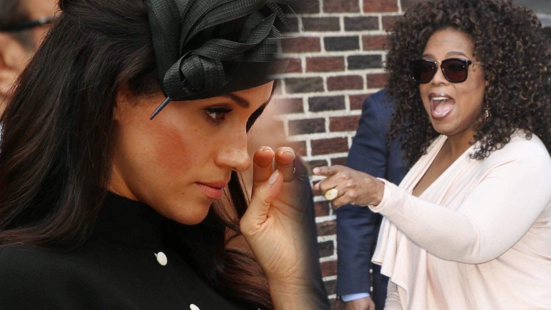 Oprah Winfrey zdradziła CAŁĄ PRAWDĘ o Meghan Markle. Bez ogródek powiedziała jaka jest naprawdę