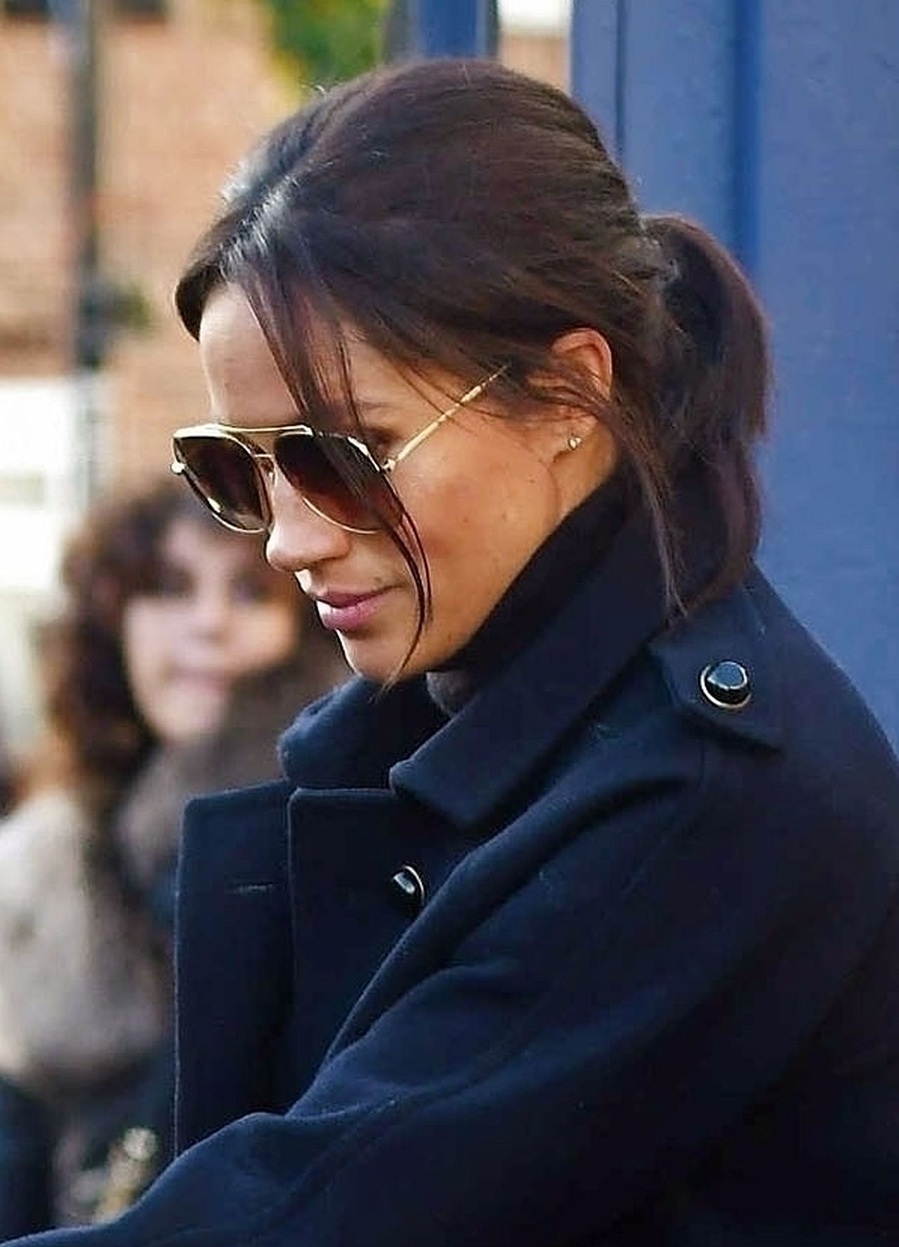 *PREMIUM-EXCLUSIVE* Pregnant Meghan Markle has lunch with her new deputy director of communications Christian Jones. *MUST CALL FOR PRICING* / LDNPIX / K. MURRAY / BACKGRID , kod: Meghan Markle