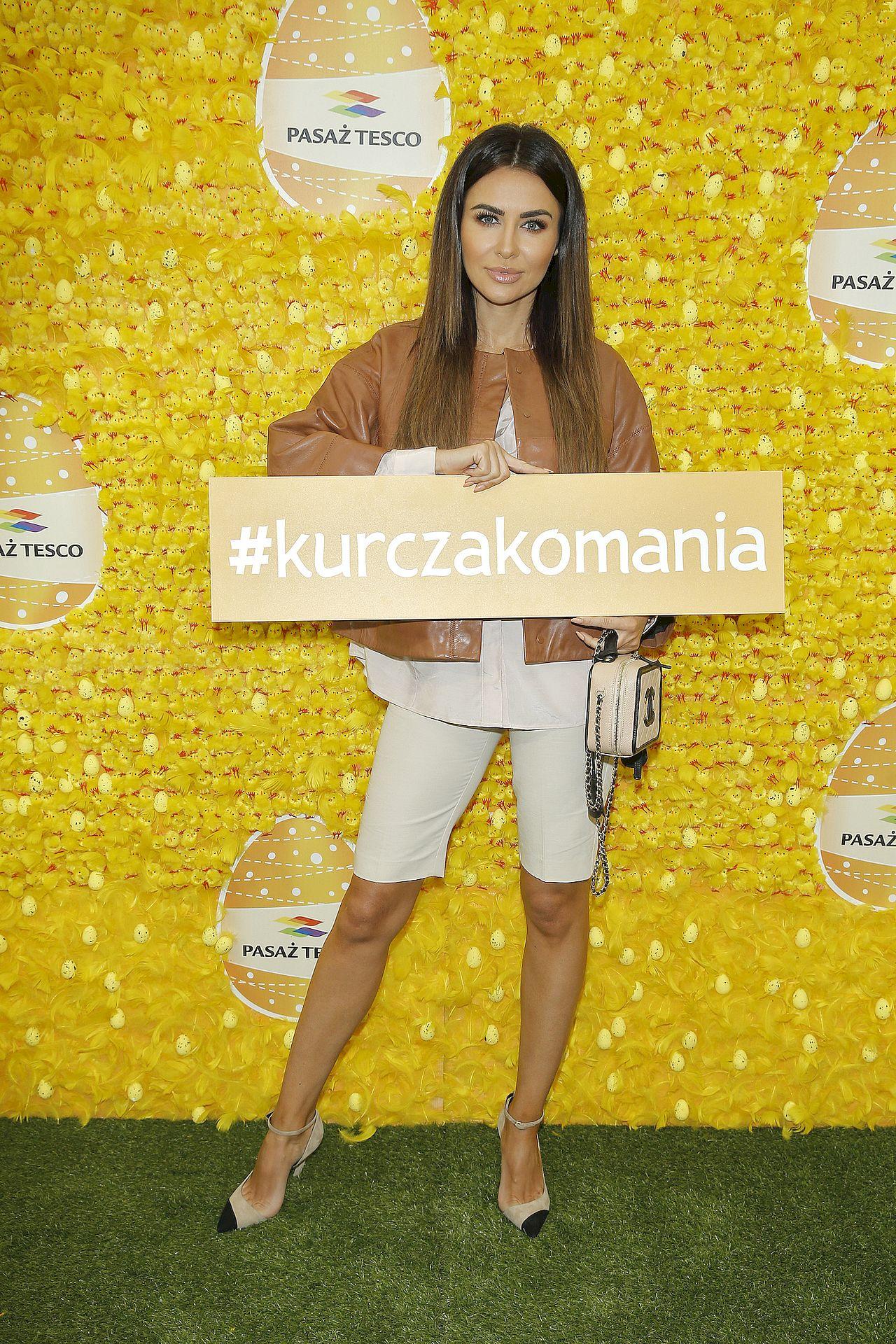 Natalia Siwiec na evencie Tesco