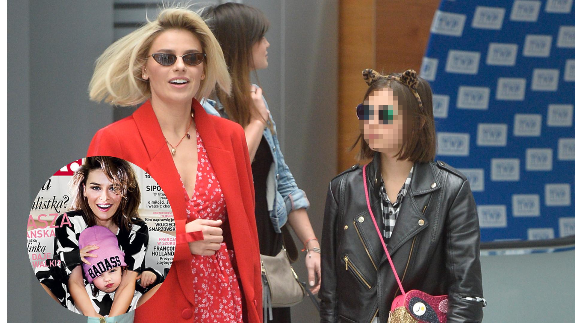 Kalina Józefowicz, córka Nataszy Urbańskiej, jest już nastolatką – mama zabrała ją do telewizji (ZDJĘCIA)