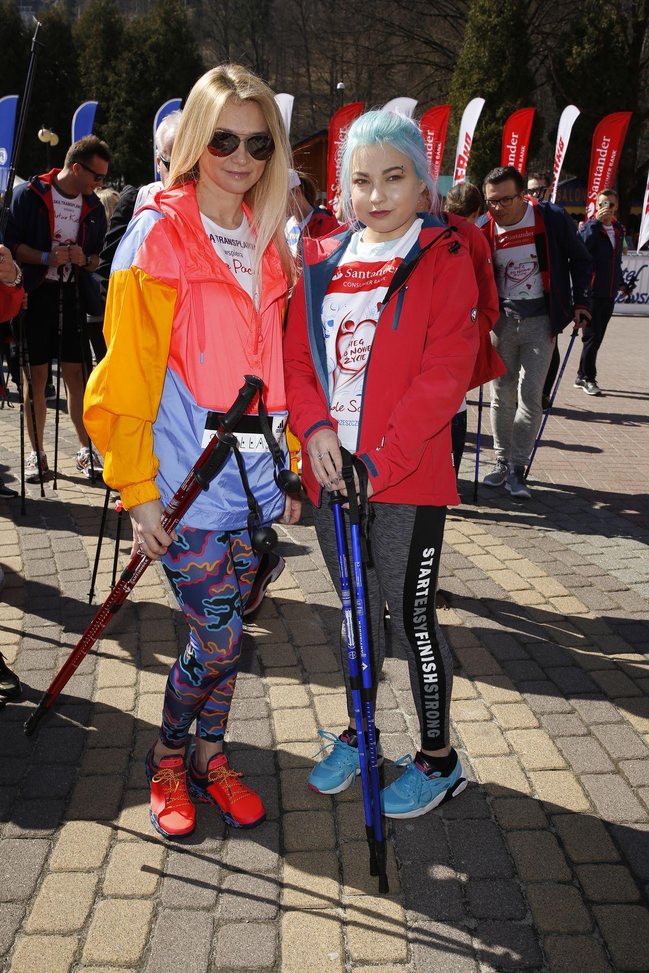 Ewa Pacuła z córką Nicole Saletą