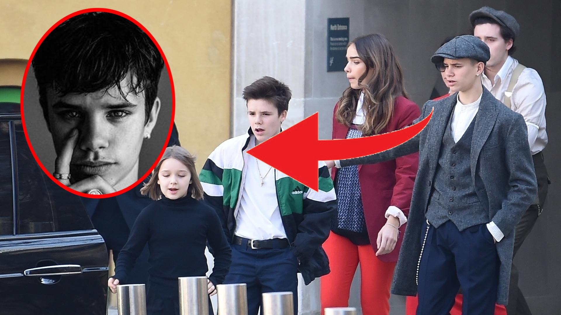 16-letni Romeo Beckham wyrasta na kopię Davida! Zobaczcie NOWE zdjęcie syna Victorii Beckham (ZDJĘCIA)