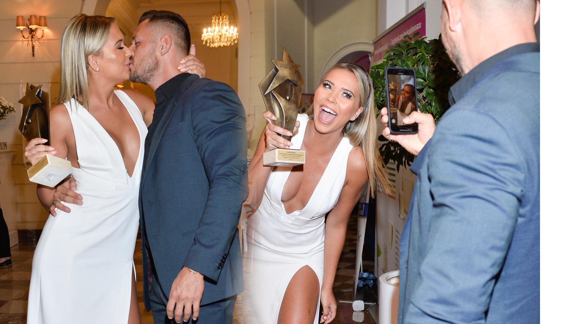 Sandra Kubicka całuje się na imprezie ze swoim chłopakiem (ZDJĘCIA)