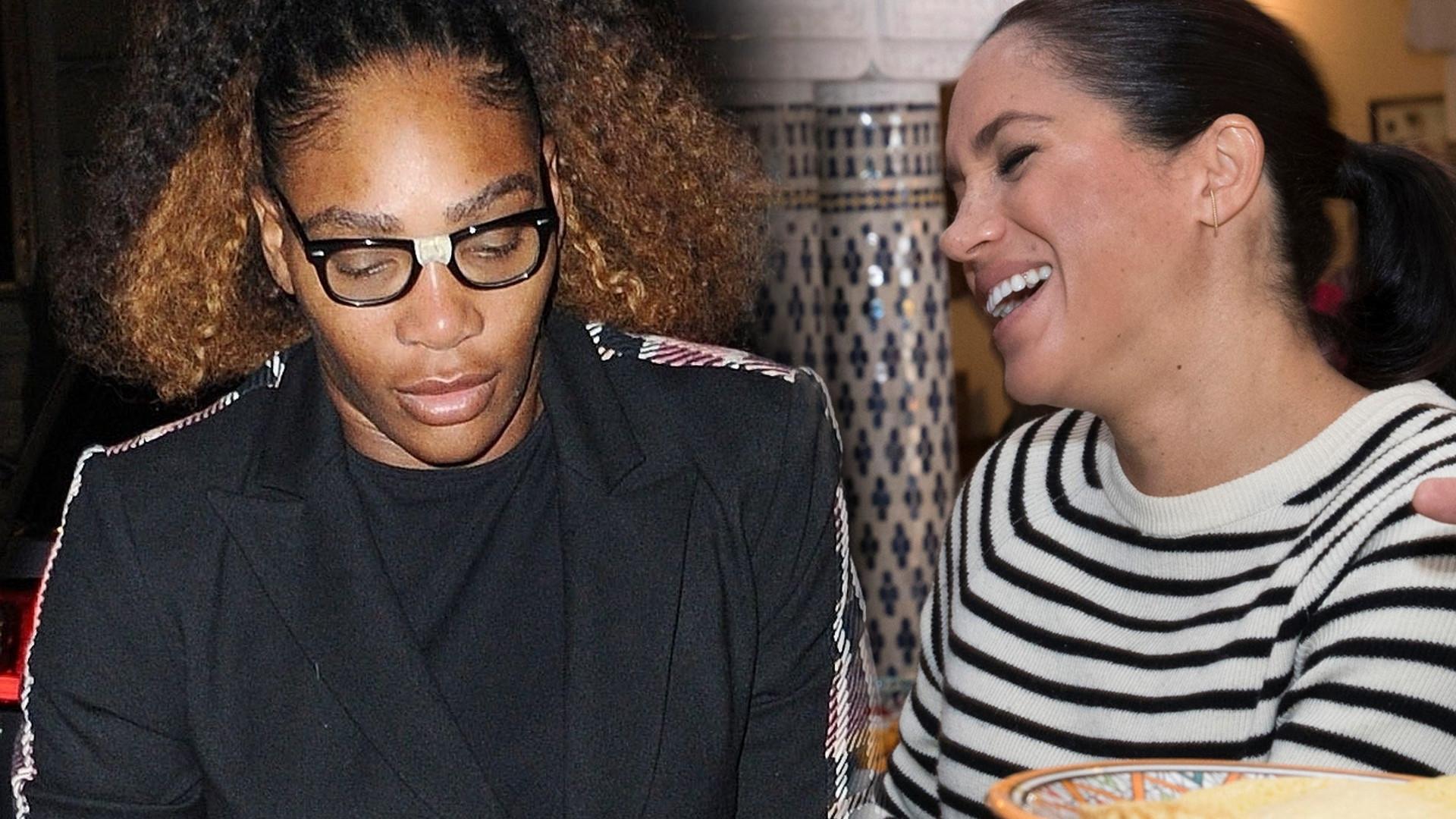 Serena Williams przez przypadek zdradziła PŁEĆ dziecka księżnej Meghan?