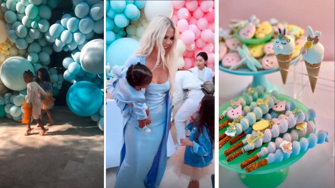 Bajkowe urodzinki córki Khloe Kardashian – True