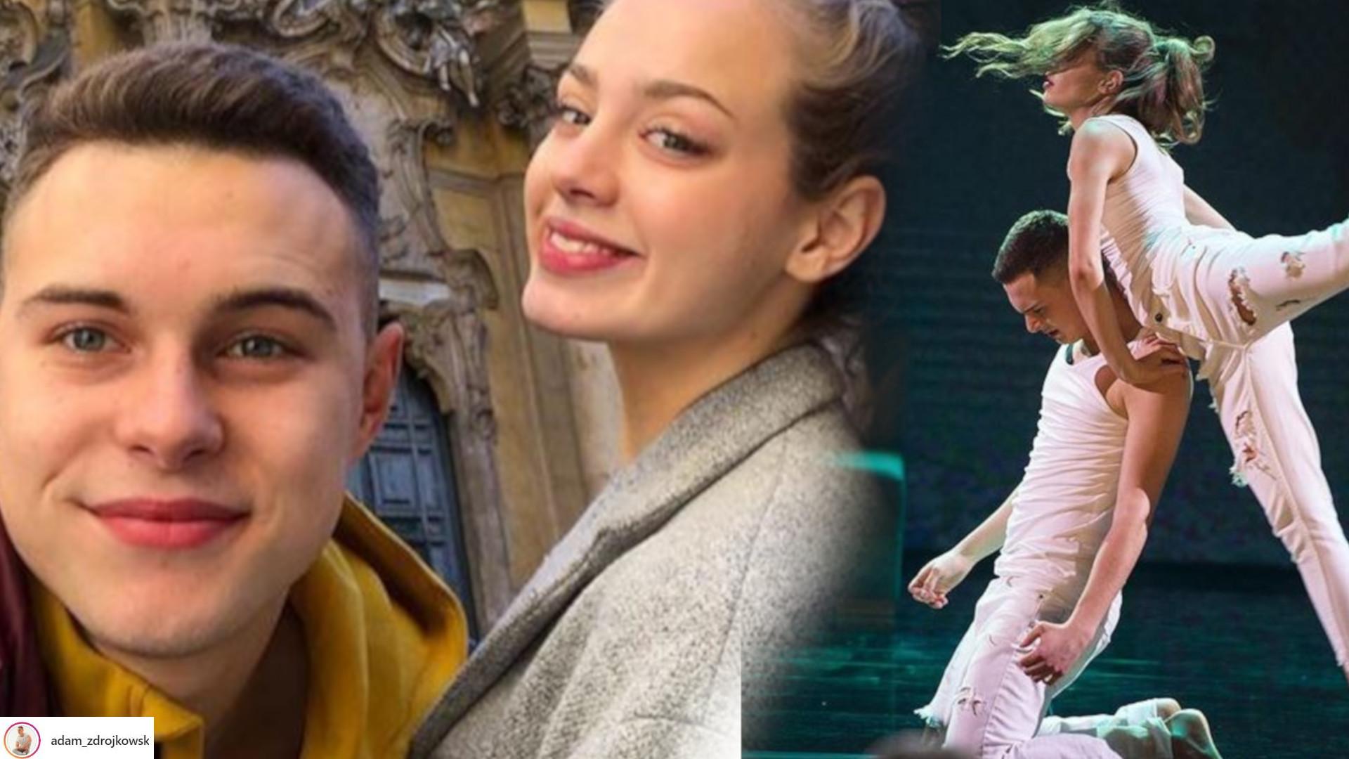 """Adam Zdrójkowski pokłócił się z Wiktorią Gąsiewską. Puściły mu nerwy w programie """"Dance, Dance, Dance"""""""