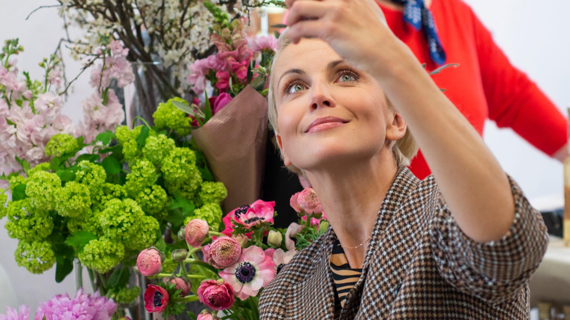 Kasia Zielińska i Anna Dereszowska urządzają przydomowe ogródki (ZDJĘCIA)
