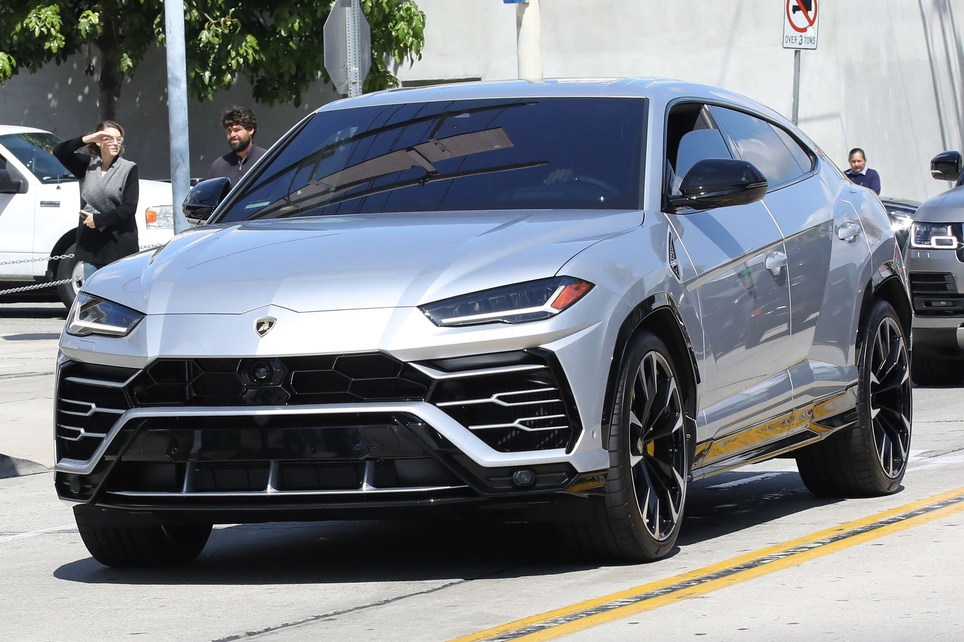 *EXCLUSIVE* Kylie Jenner gifts Travis Scott a new Lamborghini Urus truck for his bday!