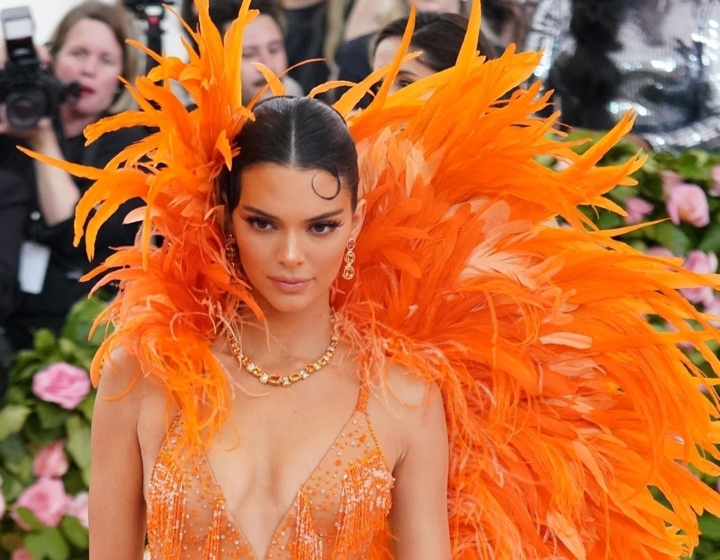 Celebrities look stunning as they step out for the Met Gala Kendall Jenner