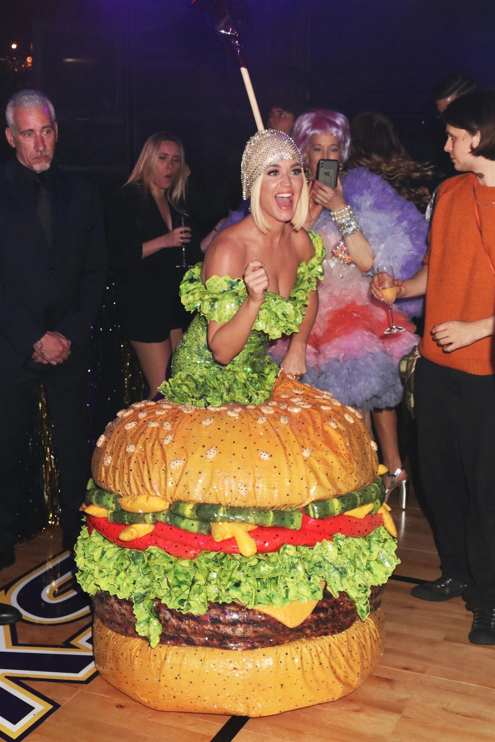 Guests are seen at the Gucci Met Gala After Party Katy Perry
