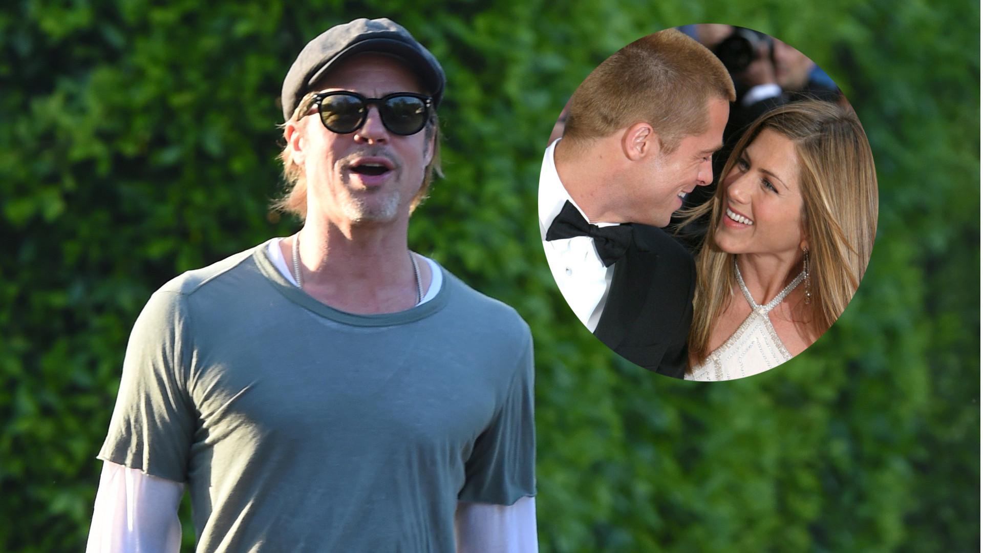 Paparazzi zapytali Brada Pitta, czy jest z Jennifer Aniston – zobaczcie JEGO REAKCJĘ (ZDJĘCIA)