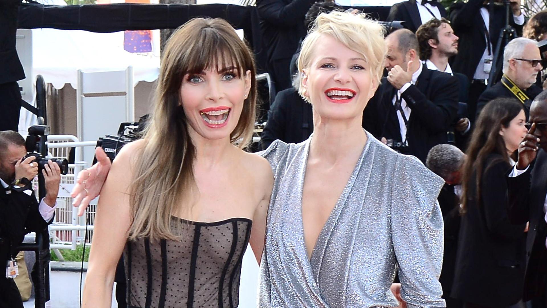 Kożuchowska i Dygant świetnie się BAWIŁY na czerwonym dywanie w Cannes (ZDJĘCIA)