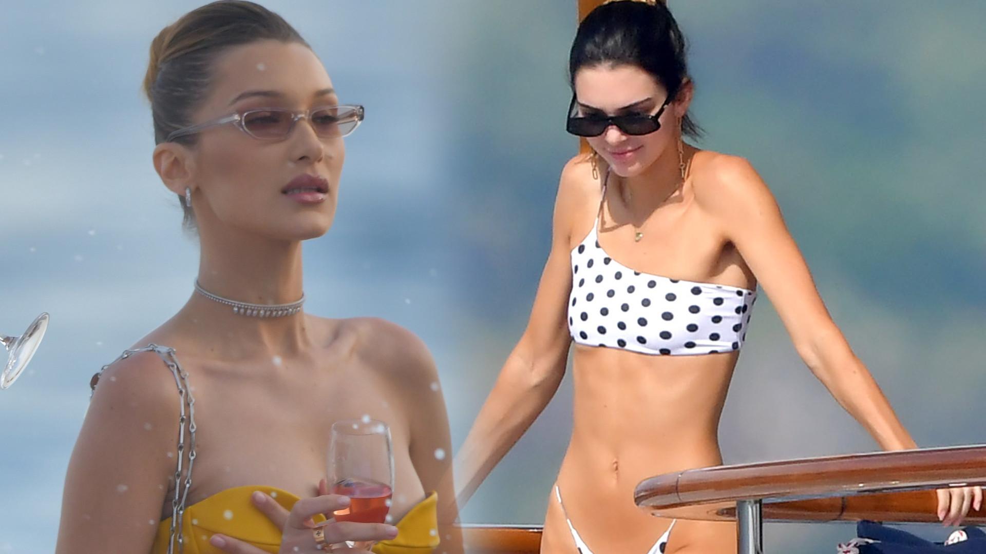 Seksowna czy ZA SZCZUPŁA? Kendall Jenner bez Photoshopa – w BIKINI na jachcie (ZDJĘCIA)