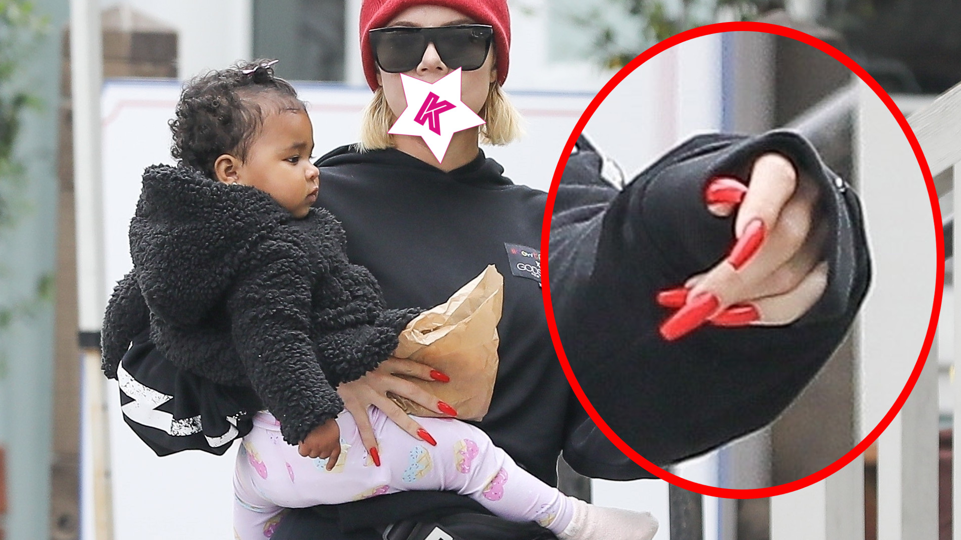 Usta Khloe Kardashian naprawdę wyglądają DZIWNIE (ZDJĘCIA)