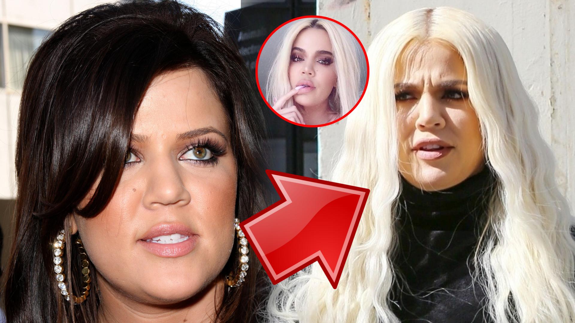 Masz już usta jak kaczka! – piszą fani Khloe Kardashian. Porównaliśmy jej nowe zdjęcia ze starymi. Widać, że pomponuje usta?