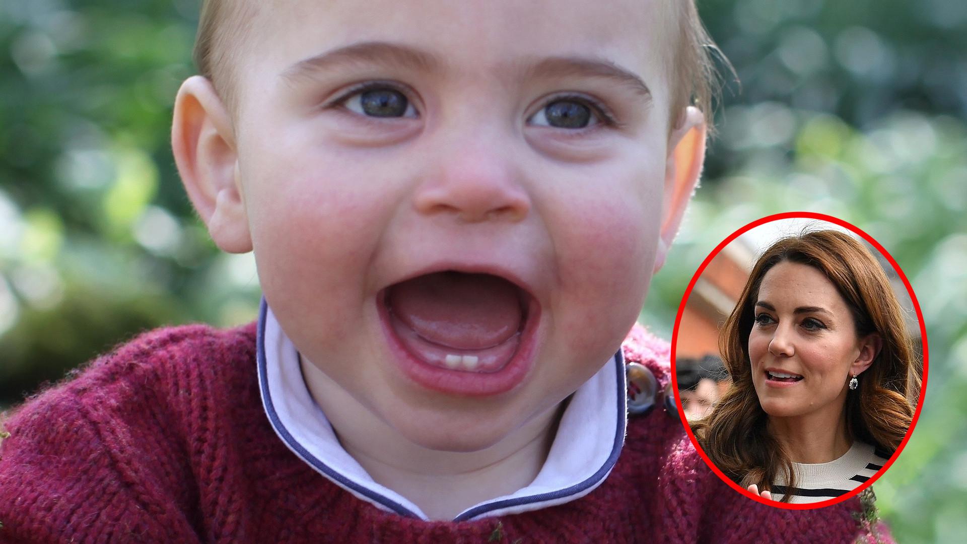 Książę Louis to niezły GAGATEK! Kate Middleton zdradziła, co się dzieje w ich domu
