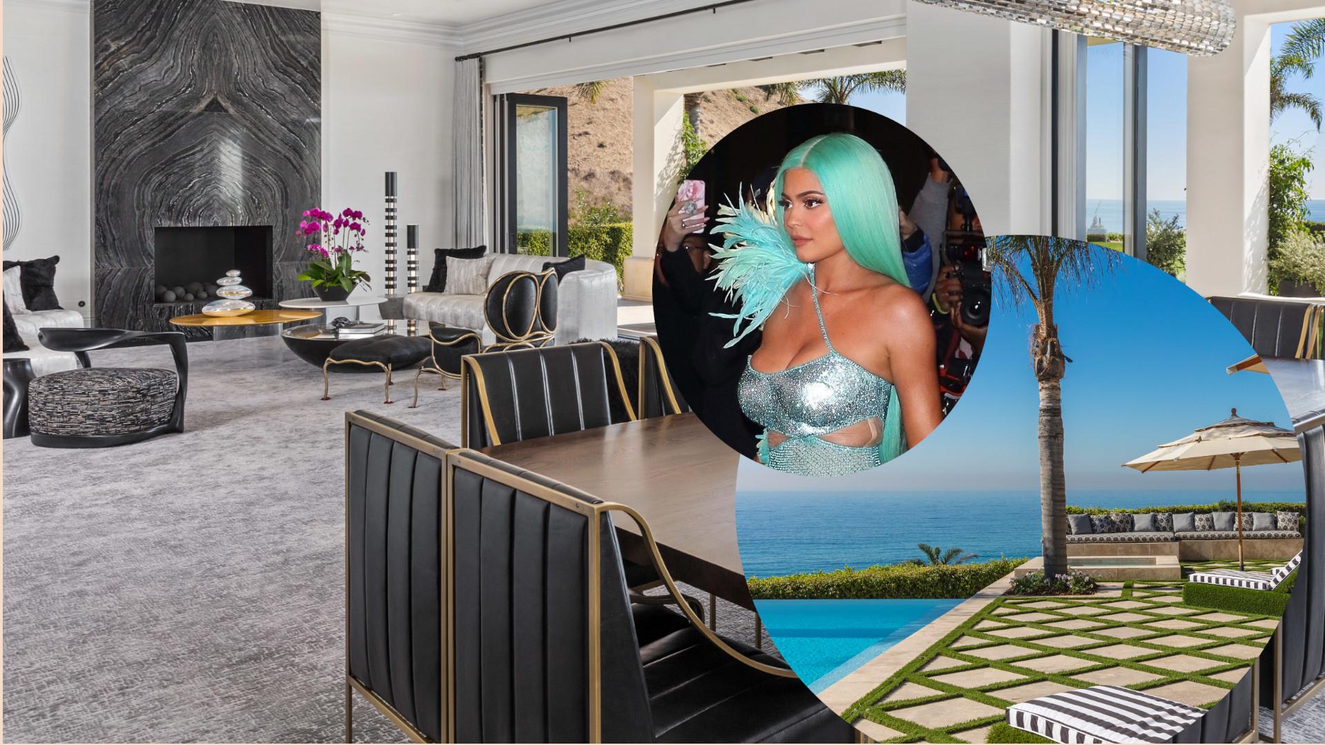 Biało-stalowa kuchnia, luksusowy salon – zobaczcie DOM Kylie Jenner w Malibu