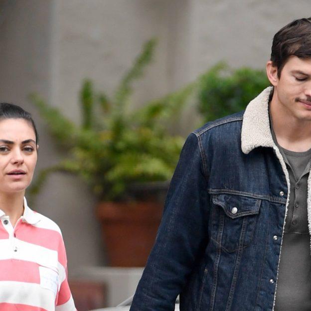 EXCLUSIVE: Mila Kunis and Ashton Kutcher tour a potential preschool in Los Angeles