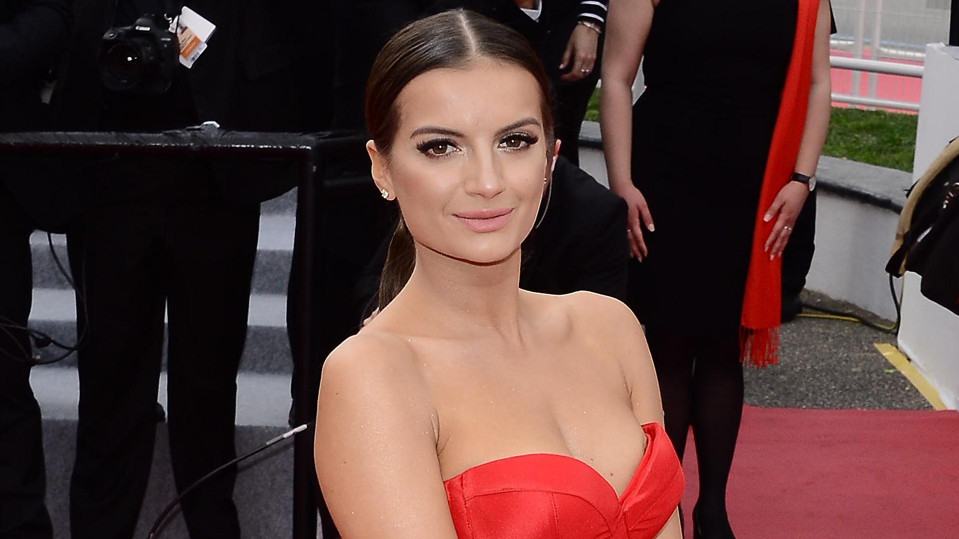 Polka w Cannes – Natalia Janoszek na festiwalu. Zobaczcie jej kreację – nie pochodzi z dużego domu mody (ZDJĘCIA)