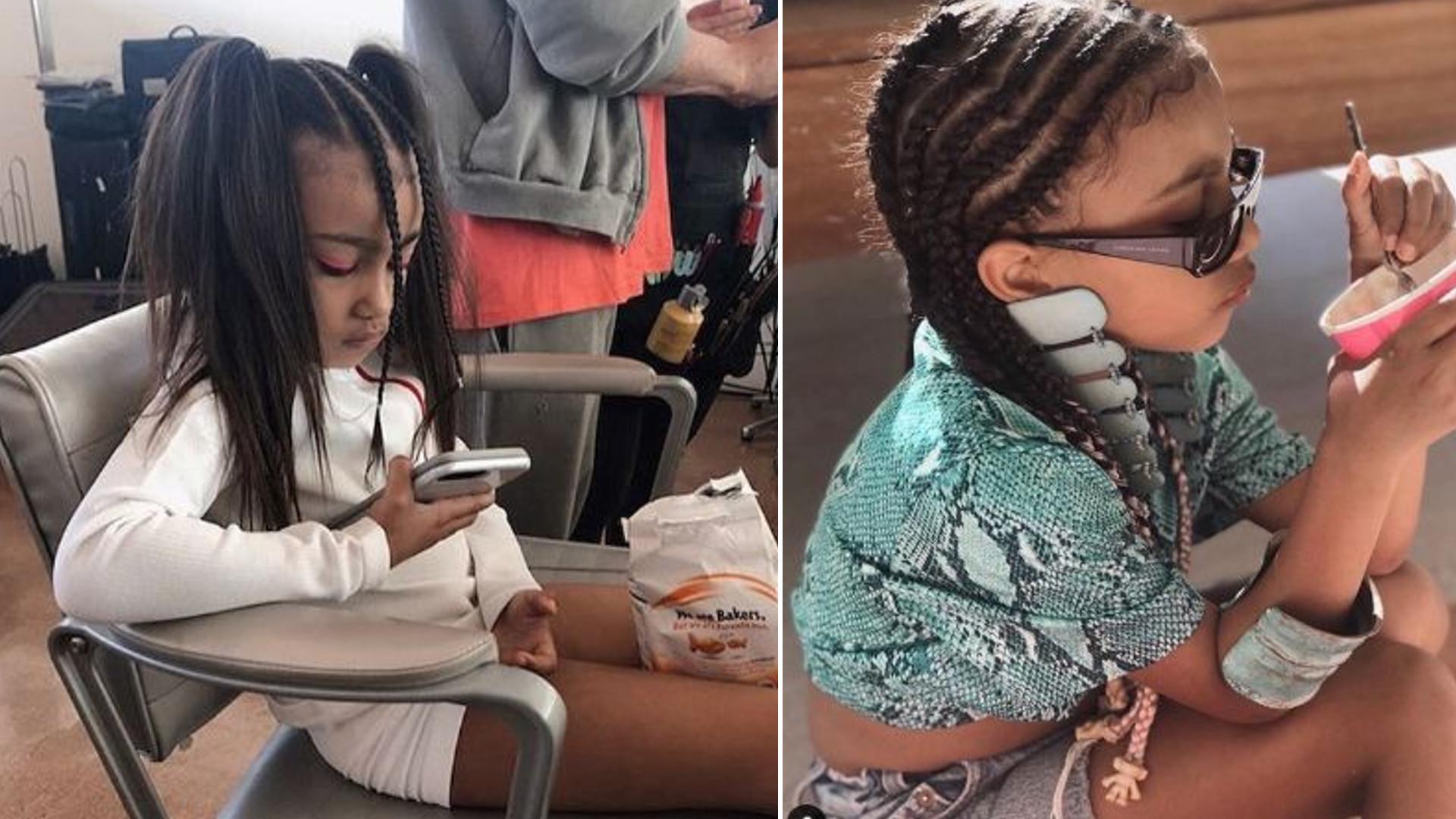 6-letnia North West najchętniej przesiaduje w GARDEROBIE mamy, Kim Kardashian – celebrytka nazywa dziecko małą fashionistką
