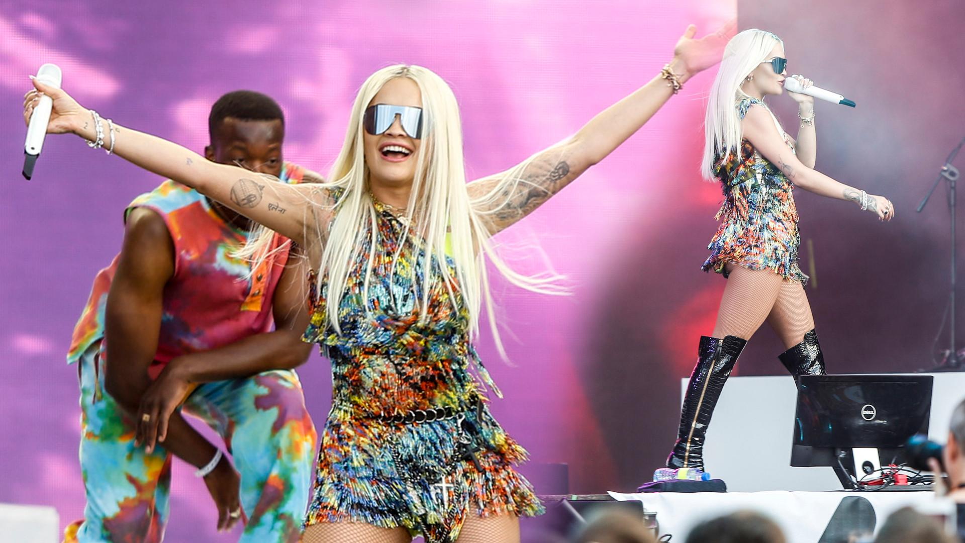 Rita Ora ZACHWYCONA polską publicznością – gwiazda dała koncert na Orange Warsaw Festiwal (ZDJĘCIA)