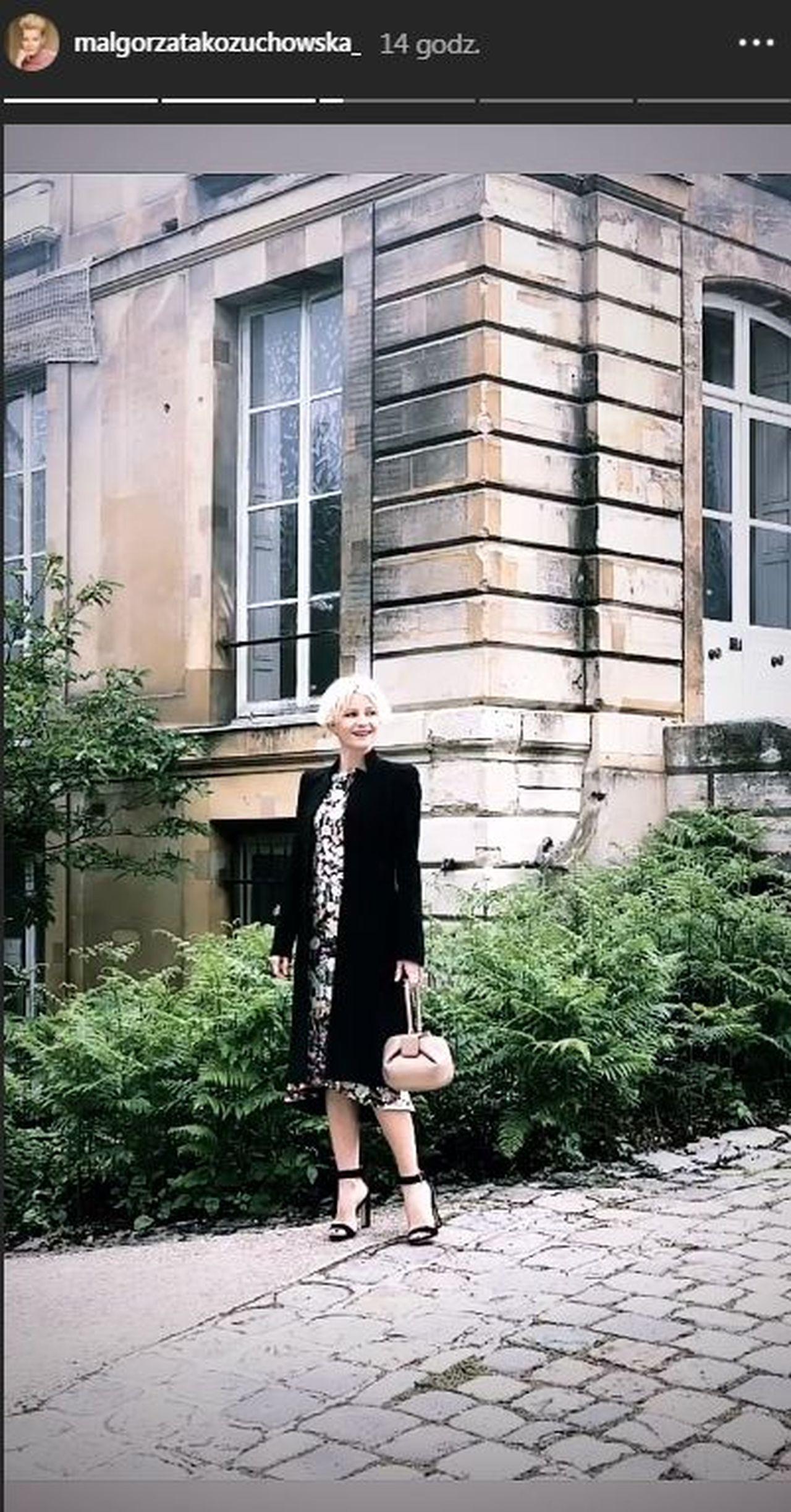 Małgorzata Kożuchowska zapuszcza włosy? Nowa fryzura