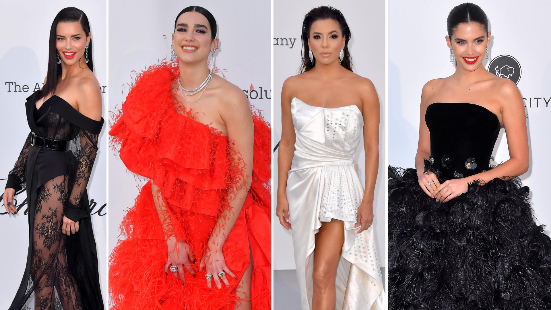 BOSKIE kreacje na gali amfAR – Kendall Jenner, Eva Longoria, Adriana Lima i wiele innych gwiazd