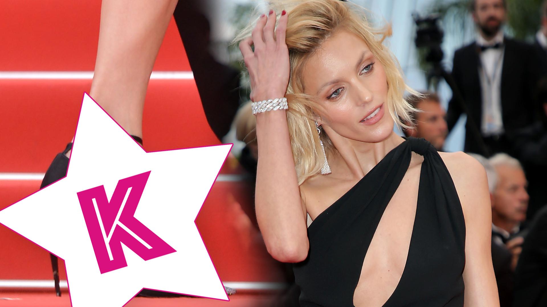 Z butów Anji Rubik w Cannes śmieje się cały Internet