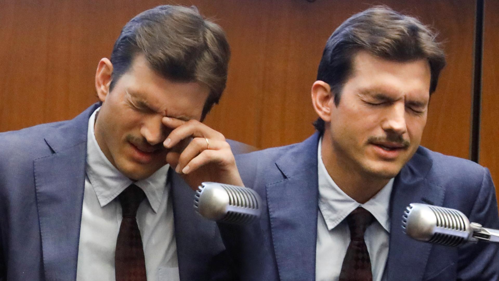Rozstrzęsiony Ashton Kutcher został PRZESŁUCHANY w sprawie morderstwa jego dziewczyny w 2001 roku