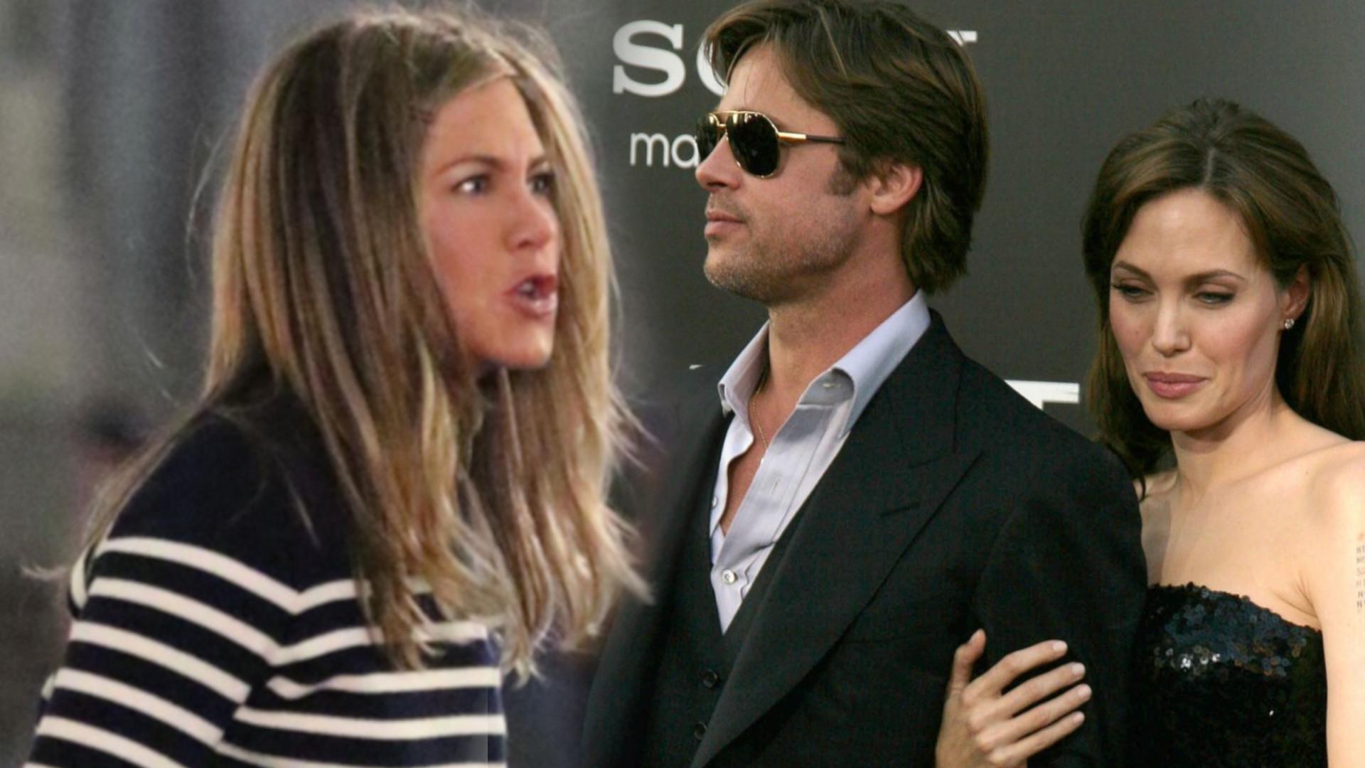 Jennifer Aniston UJAWNIA, co powiedziała do Angeliny Jolie przed jej romansem z Bradem Pittem