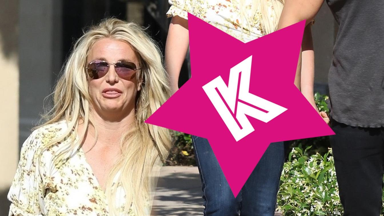 Britney Spears z chłopakiem na zakupach. Mimo że przybrała na WADZE – z krótkich bluzek nie zrezygnowała (ZDJĘCIA)