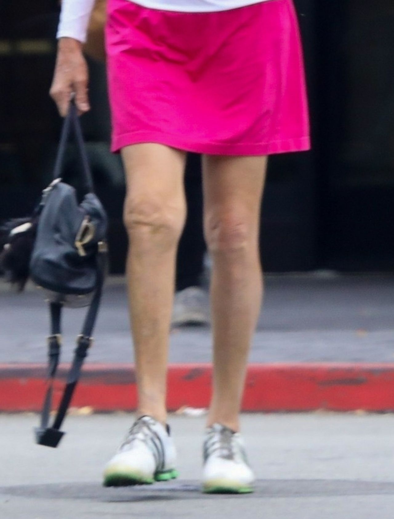 *EXCLUSIVE* Caitlyn Jenner stops by Starbucks after playing golf