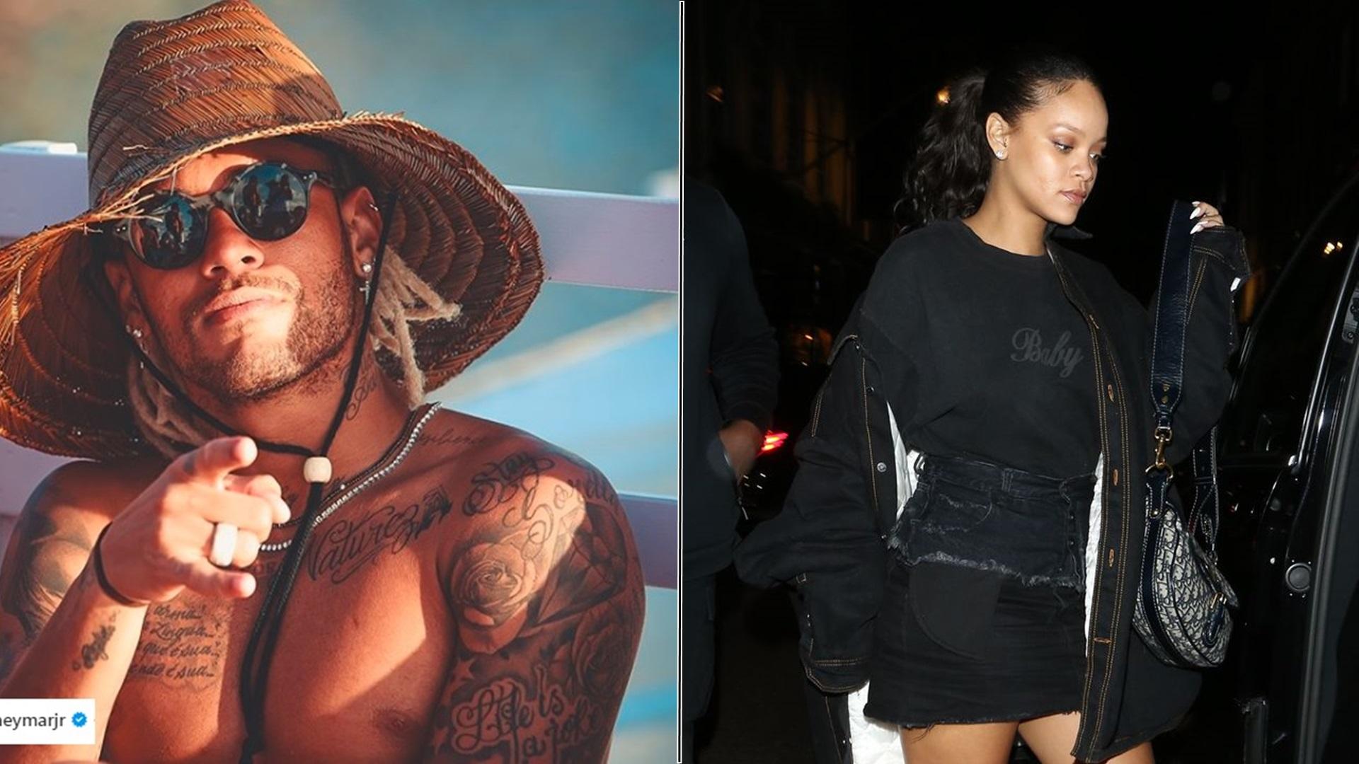 Neymar niedzielny wieczór spędził z Rihanną! – Uroczo o niej napisał