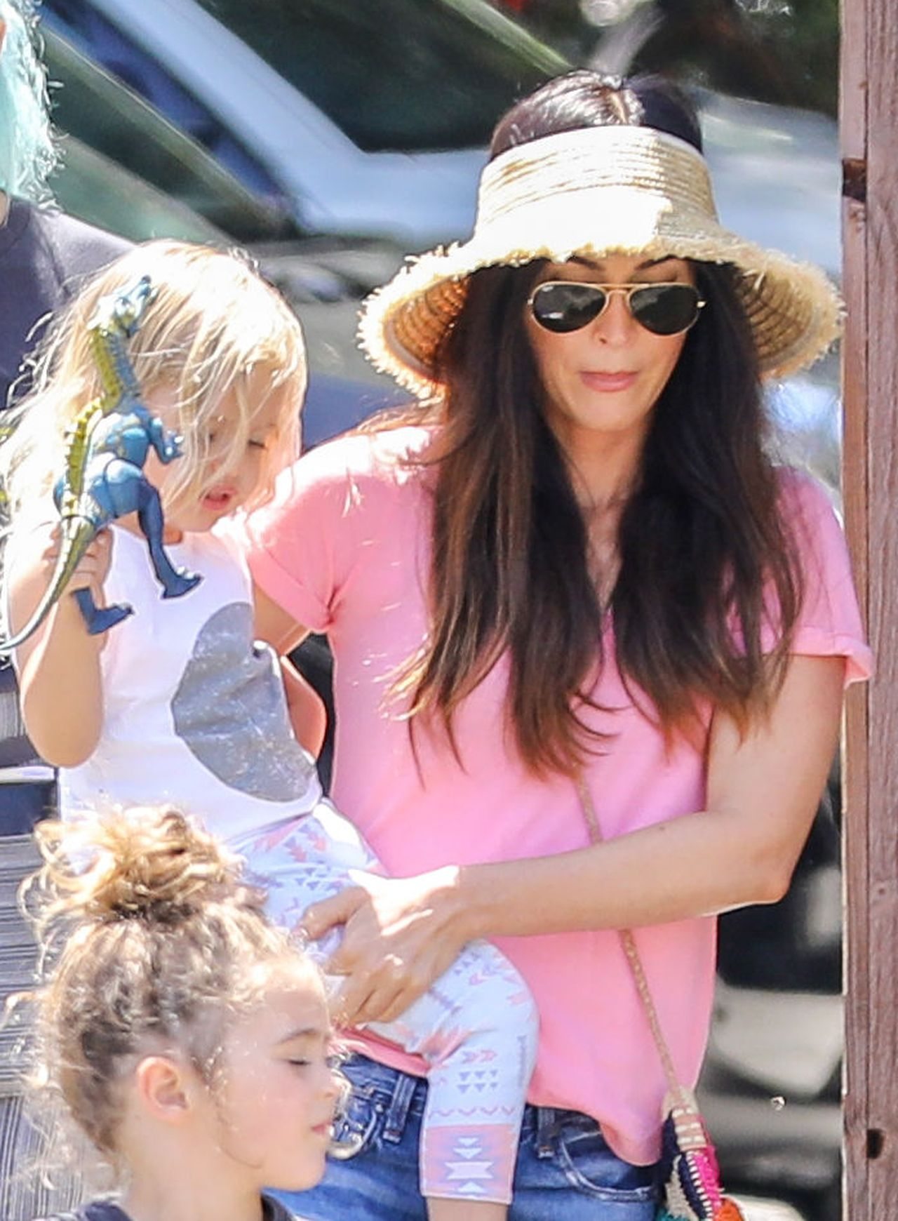 PREMIUM EXCLUSIVE Single Megan Fox spends Mother's Day with the kids