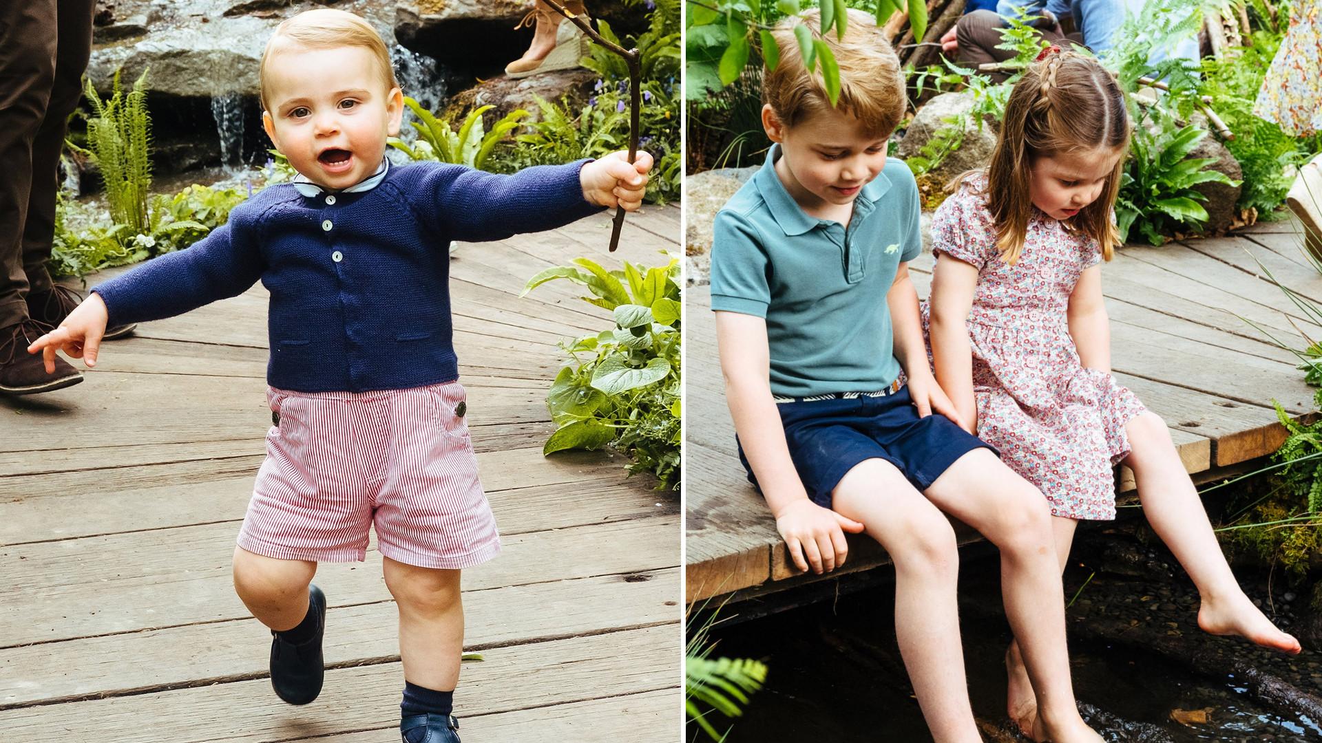 Dzieci Williama i Kate – jak one urosły!