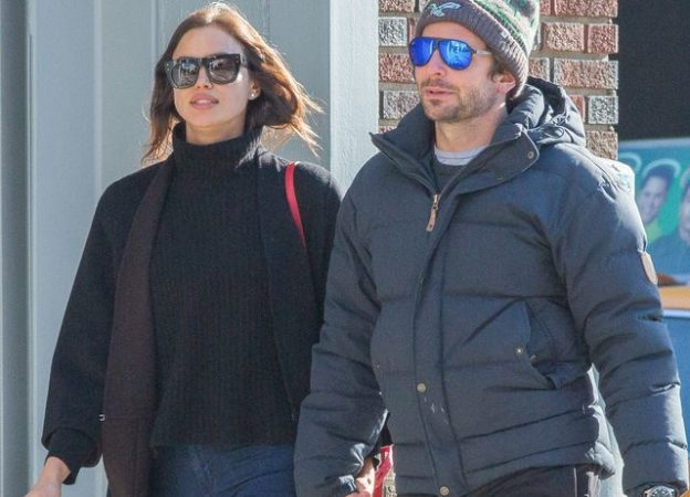 Exclusive... Bradley Cooper & Irina Shayk Inseparable In Central Park