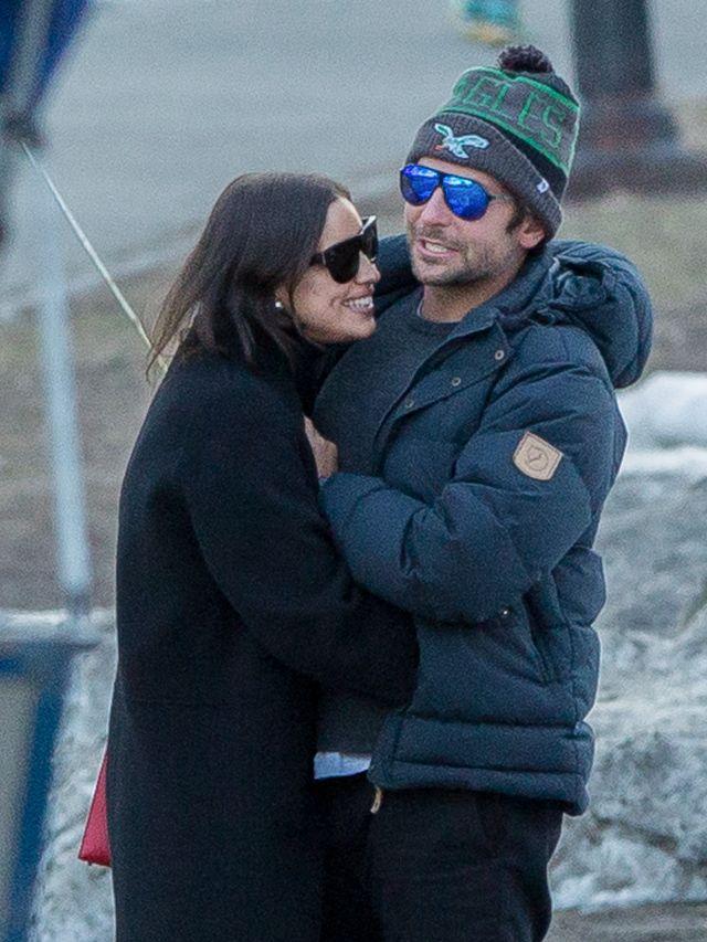 Exclusive... Bradley Cooper & Irina Shayk Inseparable In Central Park