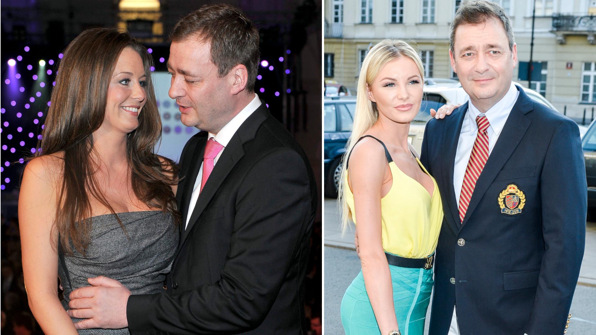 Jacek Rozenek z Małgorzatą Rozenek i Roksaną Gąską