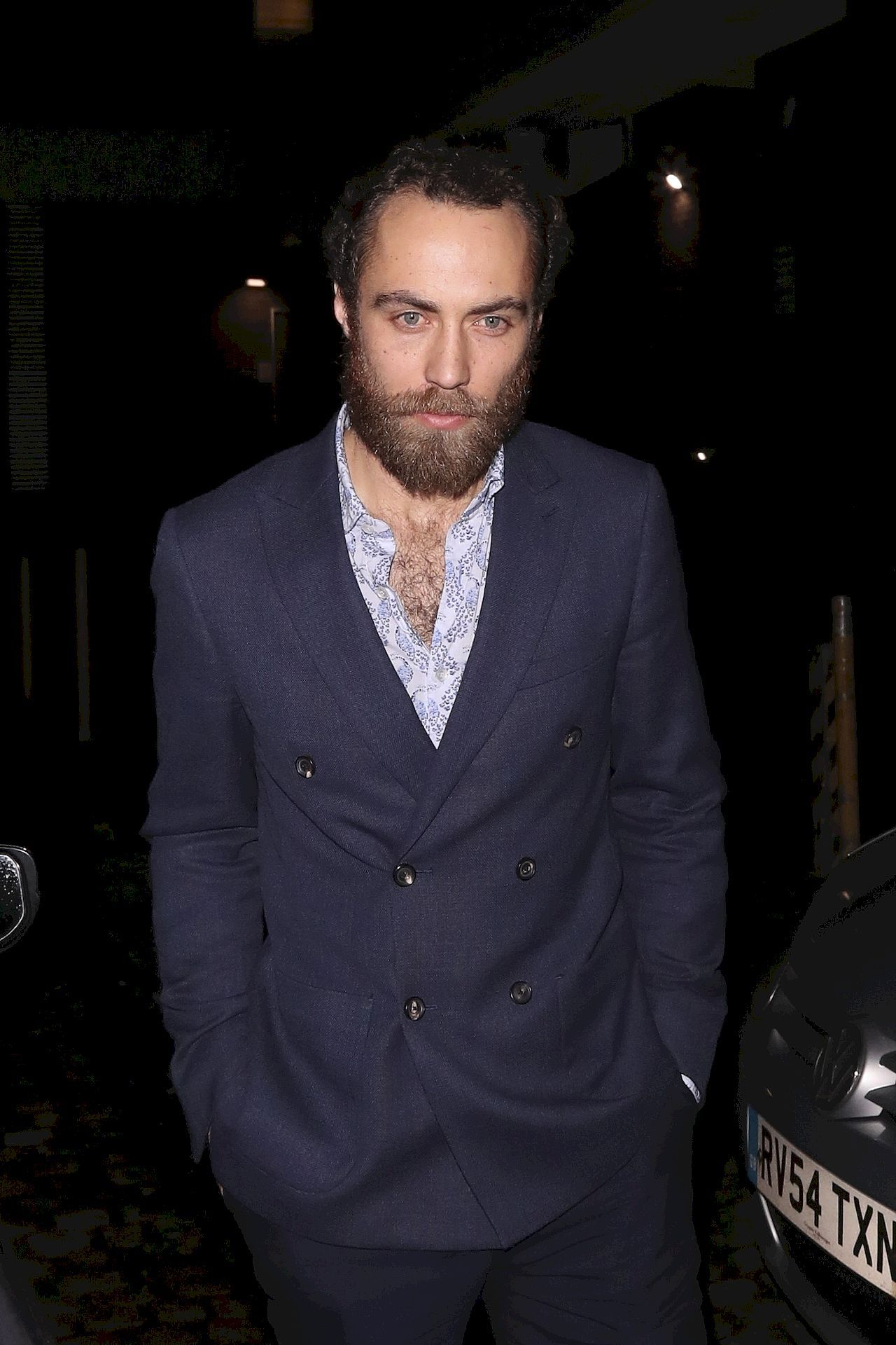 Celebrities leaving the Chiltern Firehouse / Old Boy's Club / BACKGRID , kod: James Middleton