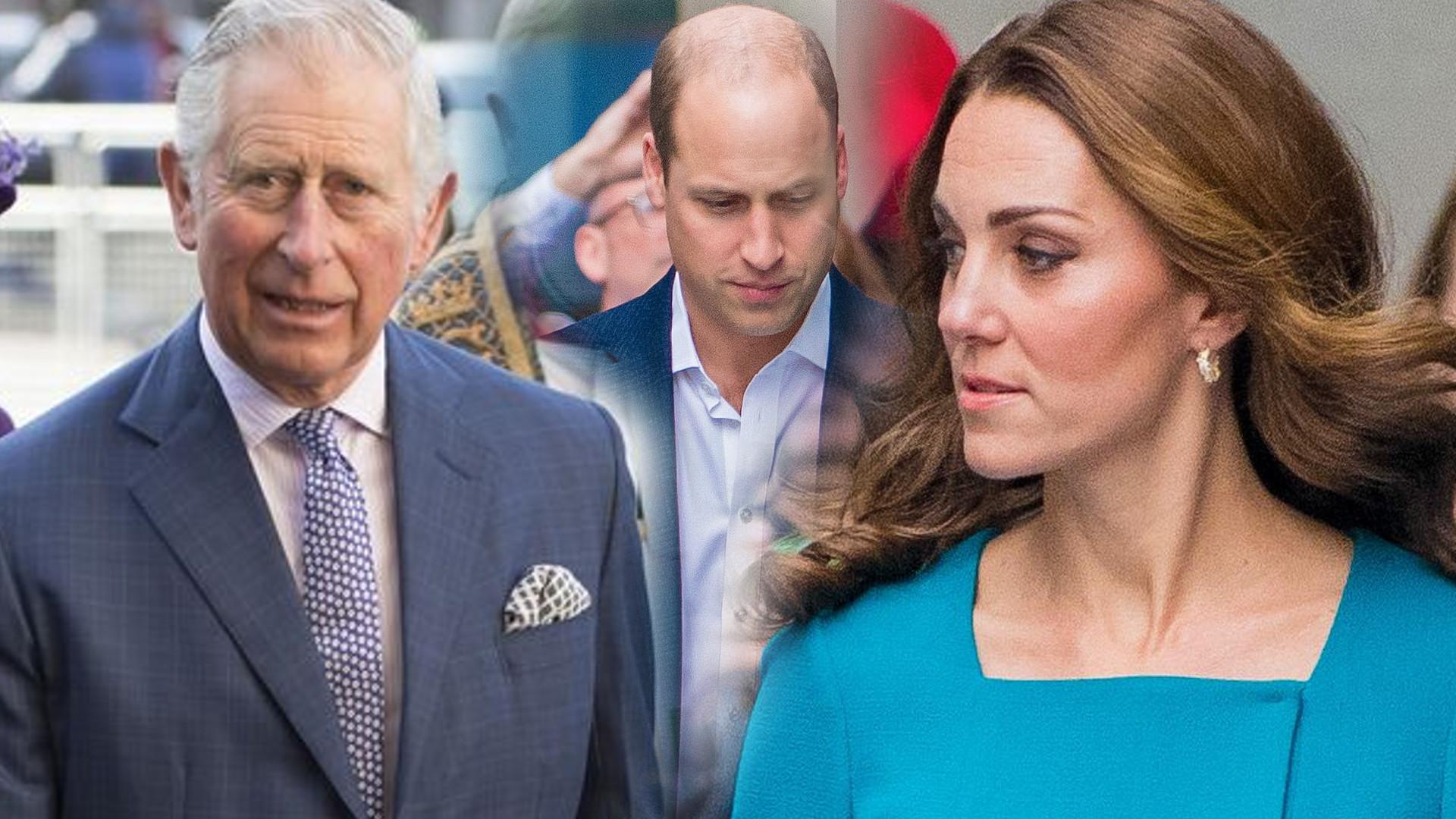 Książę Karol kazał Williamowi odejść od Kate Middleton