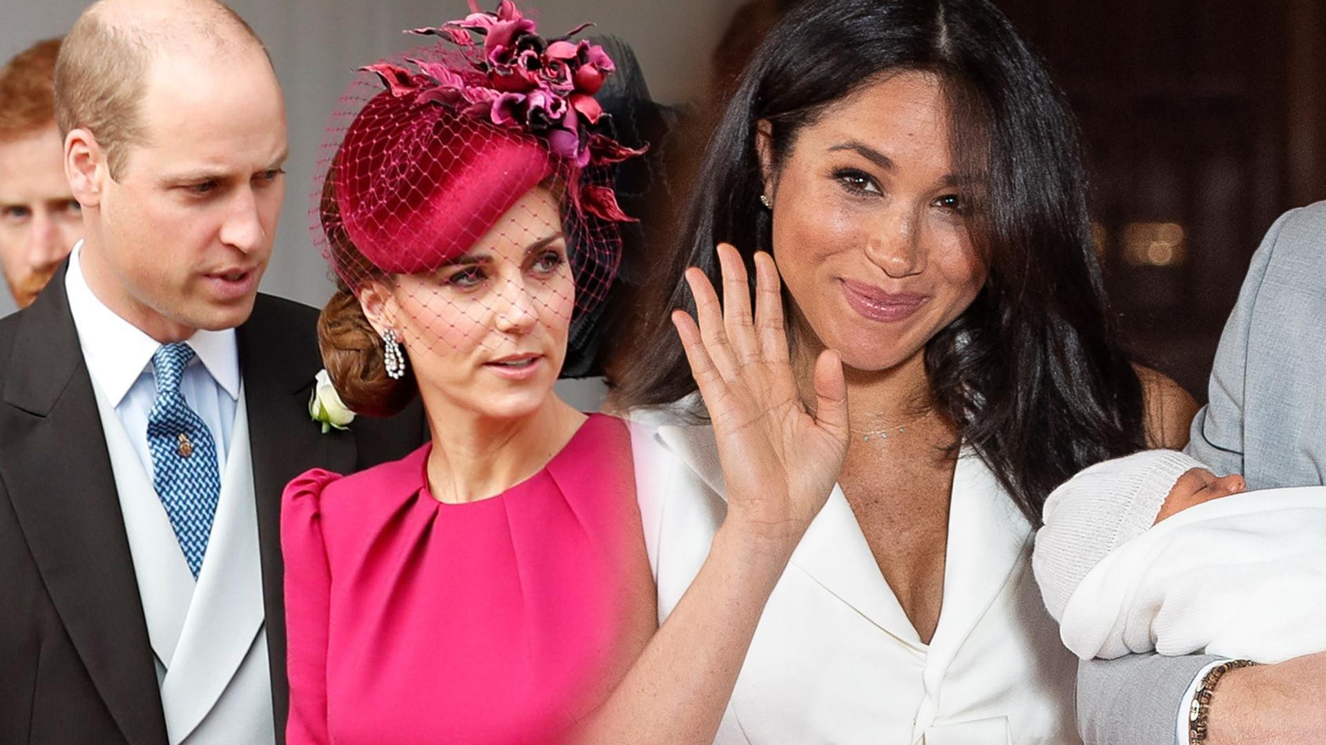 Kate Middleton i książę William w końcu poznali Archie'ego Harrisona! Jak wyglądało to spotkanie?