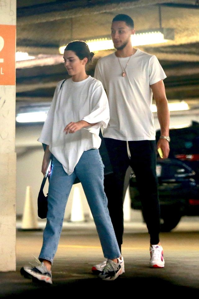 *EXCLUSIVE* Kendall Jenner and her new beau Ben Simmons go shopping at Barneys NY together **WEB MUST CALL FOR PRICING** Kendall Jenner, Ben Simmons
